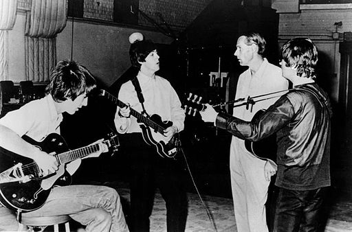 512px-Beatles_and_George_Martin_in_studio_1966