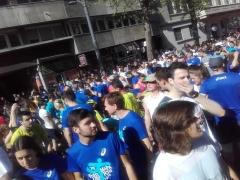 Blaue Läufer: Das diesjährige Laufshirt
