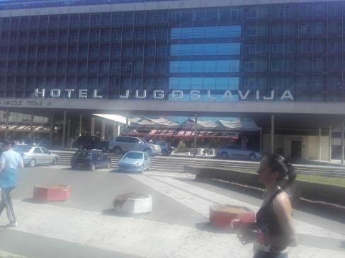"""""""Jugoslavija"""": Als Hotel gibt es das noch."""