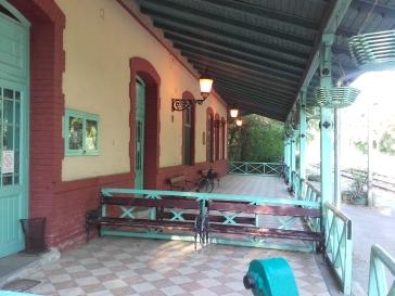 Bahnhof, wie vor mehr als 100 Jahren