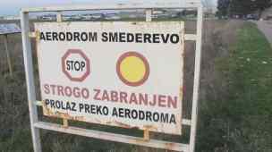 Flughafen verboten
