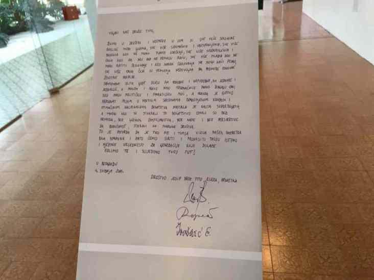 Briefe an einen Toten Brief 1