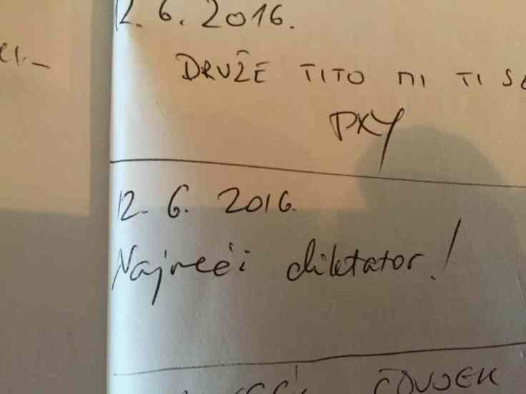Briefe an einen Toten Brief Diktator