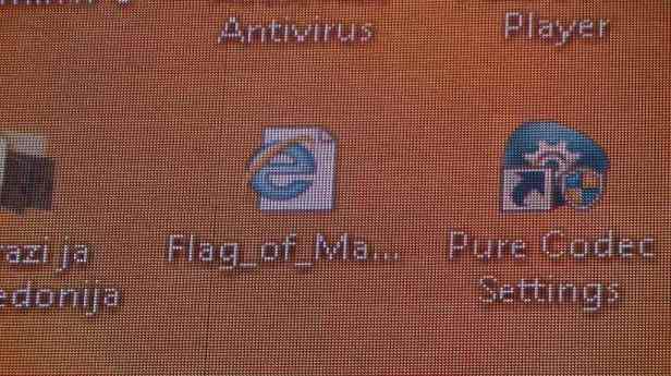 Skopje Desktop Flag of M klein