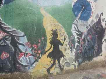 Mostar Street Art Uni Wonderland