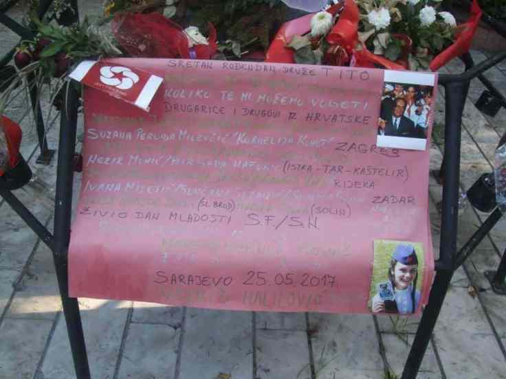 Sarajevo Tito Geburtstag (2)