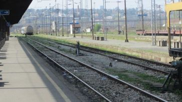 Blog BG Bahnhof leeres Gleis