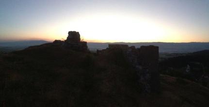 Glamoc Burg Sonnenaufgang 2