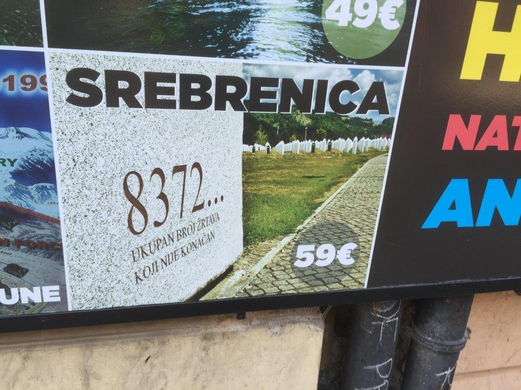 sara srebrenica tour